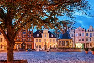 Marktplatz in Wismar